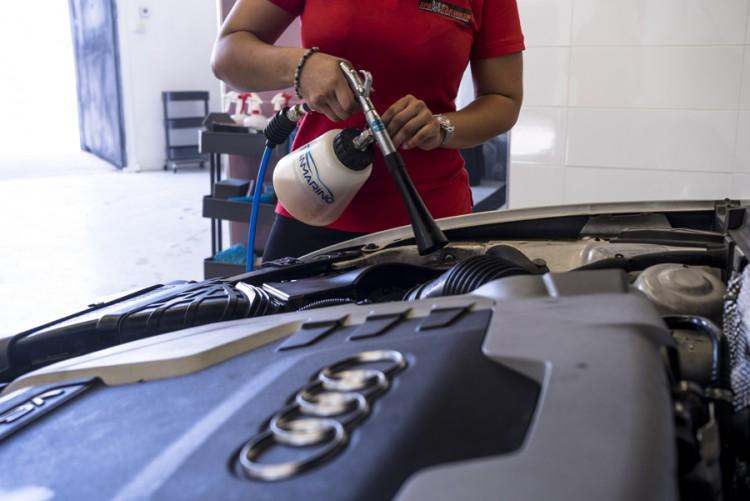 Limpieza de motor BMW